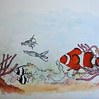 The Clownfish by robert murray