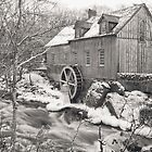 Sable River Mill II by Debbie  Roberts