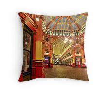 The Dome - Leadenhall Market Series - London - HDR Throw Pillow