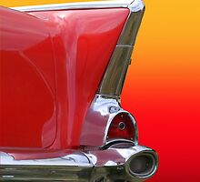 Retro Of Car Tail Lamp by snehit