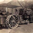 Grandfather's threshing ring  circa 1920s by Samohsong