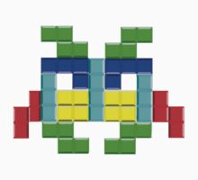 Tetris Invader by theamorousclam