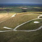 Chalk White Horse by GlennB