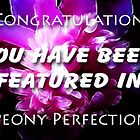 Pink Perfection banner challenge by vigor