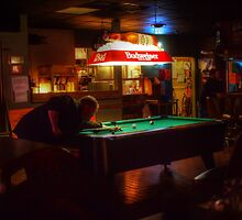 Saturday Night, Brunswick, Ohio  by Fojo