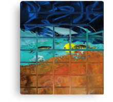 """Fish Tail""  Canvas Print"