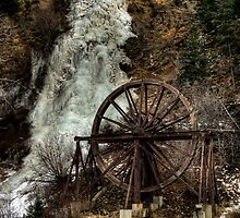 Idaho Springs Falls by Kasey Cline