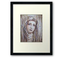 Tears of Sorrow Framed Print
