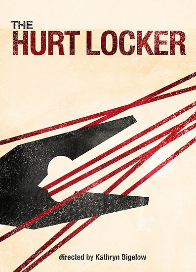 """The Hurt Locker""- minimalist movie poster by J PH"
