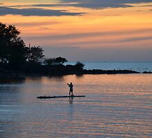 Sunset - Santiago Cove, Philippines by Loreto Bautista Jr.