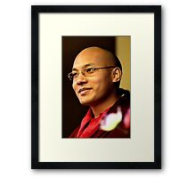 seventeenth, the karmapa. northern india Framed Print