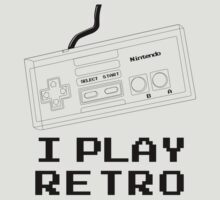 I Play Retro - Nintendo Joystick by aditmawar