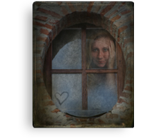Don't Give Up On Love Canvas Print