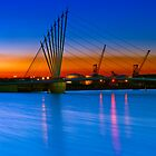 New Footbridge - Salford Quays, England by Yen Baet