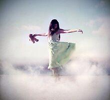 Walking on clouds by LaraZ