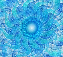 Blue Tentacles  by Beatriz  Cruz