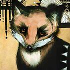 Sad old Fox eyes., by RubyandWolf