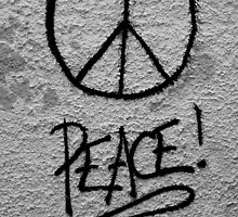Peace for mankind by Sarah Horsman