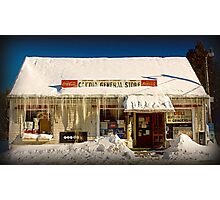 Candia General Store Photographic Print