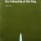 """Fellowship of the Ring""- minimalist movie poster by J PH"