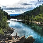 "Fishing the ""North Fork""  by raberry"