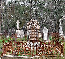 The Pioneers - Catholic Cemetery Tambaroora NSW Australia by Bev Woodman