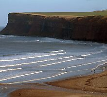 Saltburn Beach by Paul  Green
