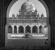 Ibrahim Roza, Bijapur by Syd Winer