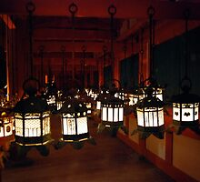 Japanese Mystery Light (2), JAPAN   NARA by yoshiaki nagashima