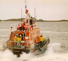 St Marys Lifeboat by Andy Jordan