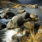 Scavaig River by Thomas Fitzgerald