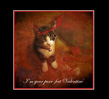 Purr-fect Valentine by enchantedImages
