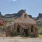 &quot;Streets of Laredo&quot; Movie Set at Big Bend National Park by Susan Russell