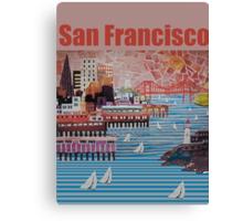 Port of San Francisco Canvas Print