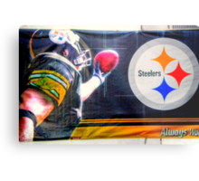 Go Steelers! Metal Print