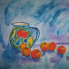 An apple a day ... can keep the &quot;blues&quot; away! by Pieta Pieterse