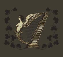 Irish Harp by ZugArt