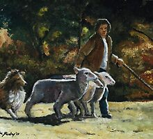 Herding Helper by Charlotte Yealey