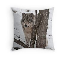 Security Officer Throw Pillow