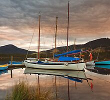 Wooden Boat School, Franklin Tasmania #4 by Chris Cobern