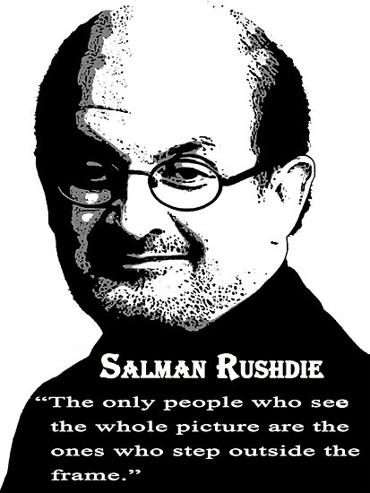 Sir Salman Rushdie by Darren Stein