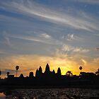Sunrise over Angkor Wat by Julian Fulton-Boote