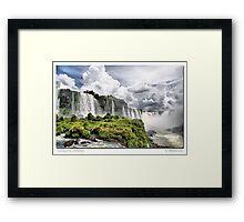 Iguazu Falls - Brazil Framed Print