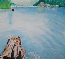Oakridge Reservoir #4 by Dawna Morton