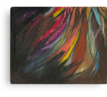 My Soul on Fire Canvas Print
