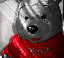 """Pooh Bear in Red"" by Harriet Brake"