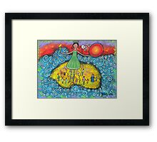 Remembering Lady Liberty Framed Print