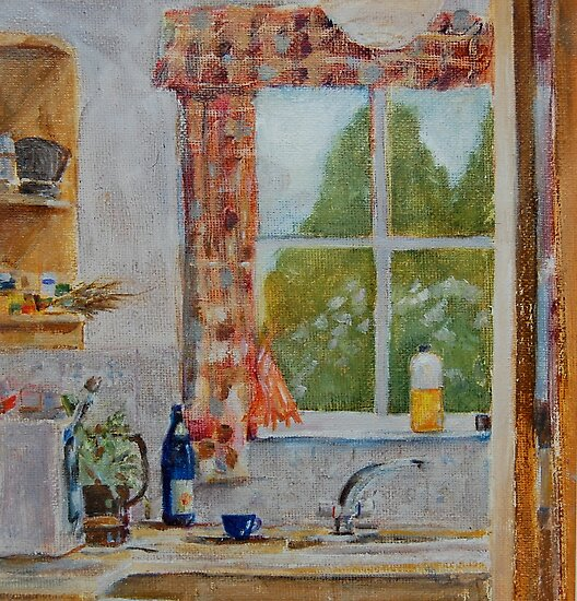 Karen's window by Peter Lusby Taylor