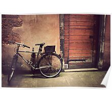 Lyon Vintage Bicycle  Poster