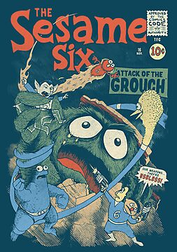 The Sesame Six by AJ Paglia